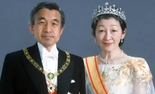 Retrato de los emperadores de Japón