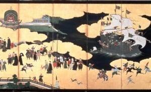 ilustración del periodo Azuchi-Momoyama