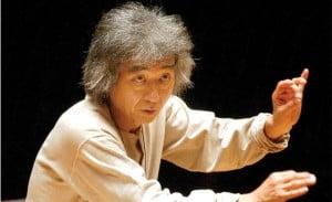 Ozawa Seiji, director de orquesta japonés