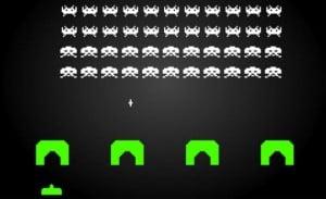 space invaders, uno de los primeros éxitos de videojuegos japoneses