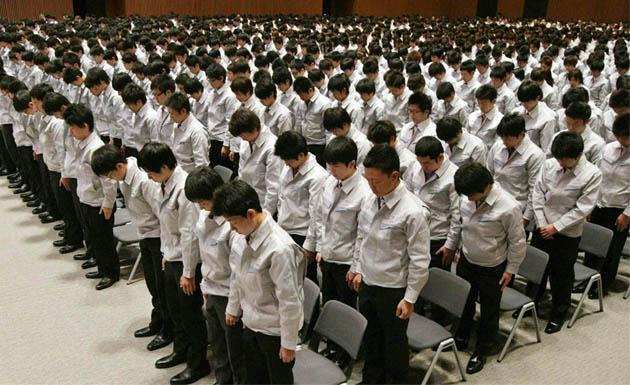 Resultado de imagen de japoneses trabajando