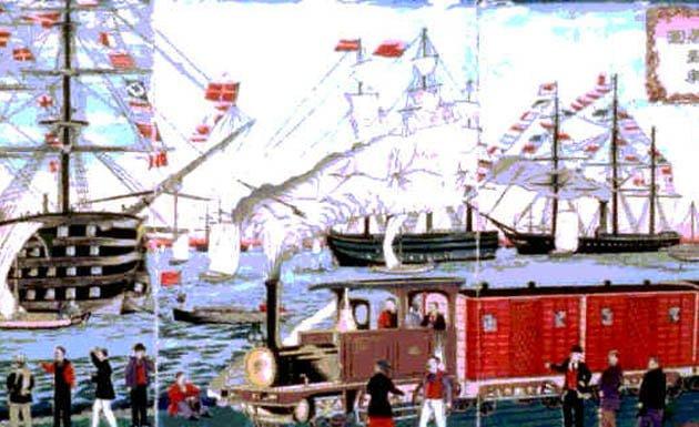 Imagen del periodo Meiji
