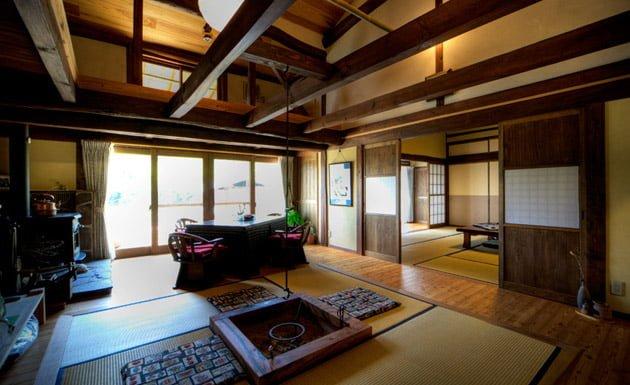 interior de un hogar japonés