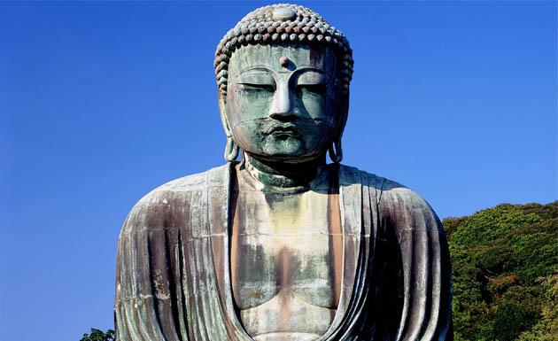Estatua de buda en Japón