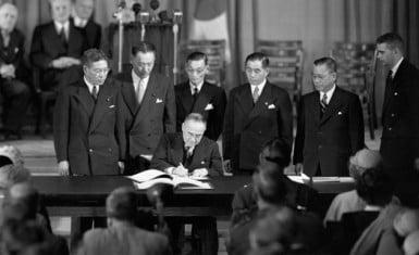 Firma del Tratado de San Francisco
