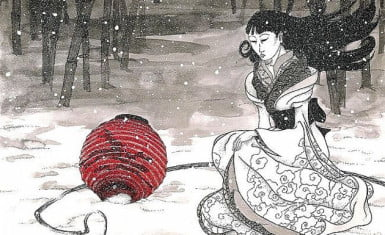 Ilustración de Yuki Onna