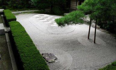 Qu es un karesansui - Arena jardin zen ...