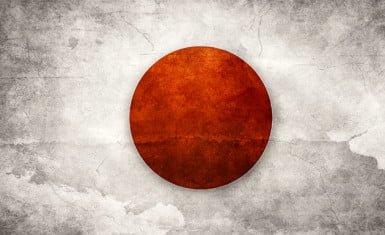 bandera de Japón