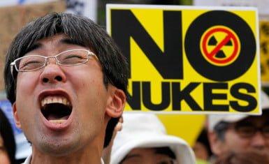 Protestas contra la energía nuclear