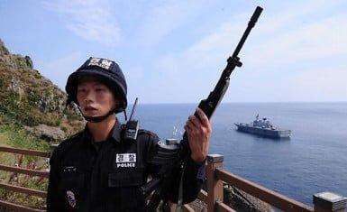 Destacamento guardacostas coreano