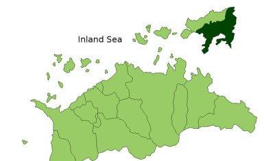Mapa de Shodoshima