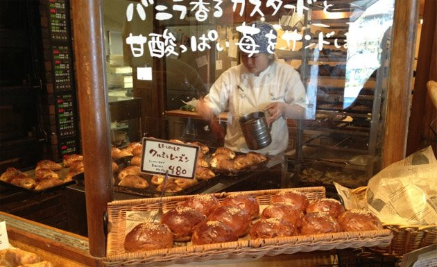 Pan en japonés