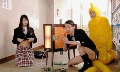 los japoneses ven programas de tv extraños
