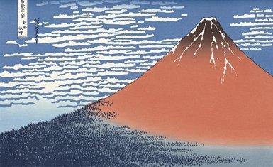 Monte Fuji en pintura