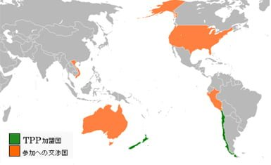 Miembros del TPP