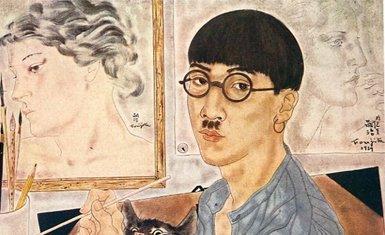 Tsuguharu Foujita autorretrato