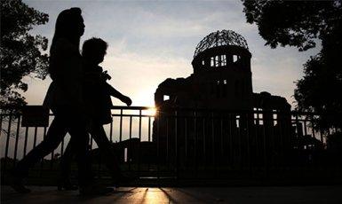 Bomba de Hiroshima epicentro