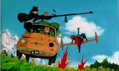 Lupin III y el castillo de cagliostro, top 10 película de anime