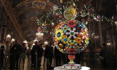Murakami en Versalles