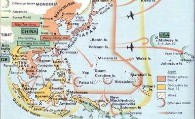 en que continente se encuentra japon