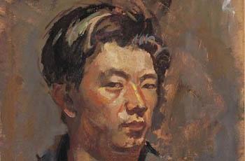 Ryohei Koiso autorretrato