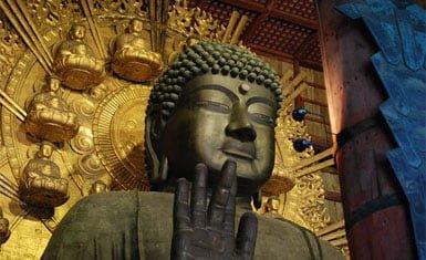 Buda del Daibutsu-den, Nara