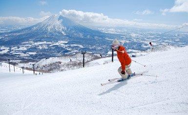 deportes de invierno en Japón