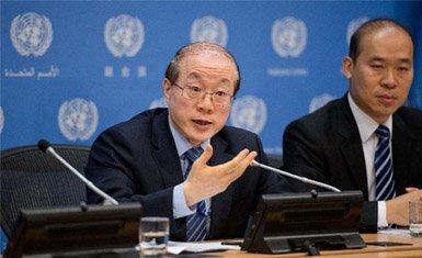 Jiu Lieyi en las Naciones Unidas