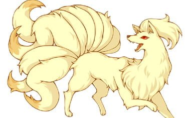 Ninetails pokemon - Kyuubi no kitsune copy