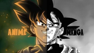 La diferencia entre el anime y el manga.