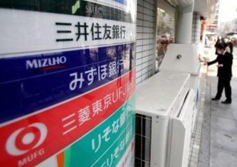 Bancos japoneses se enfrentan a una crisis por tecnologías disruptivas