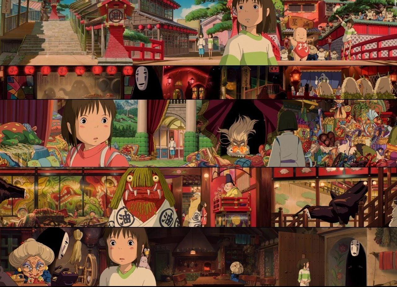 """Película """"El viaje de Chihiro"""""""