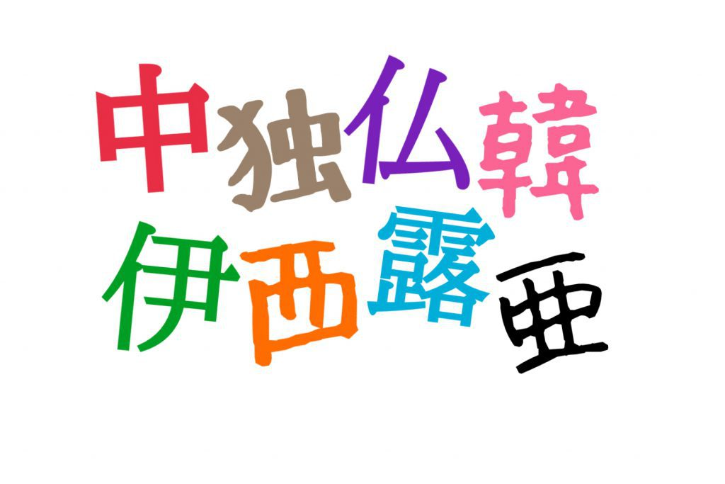 ¿Qué estudian los japoneses como segundo idioma?