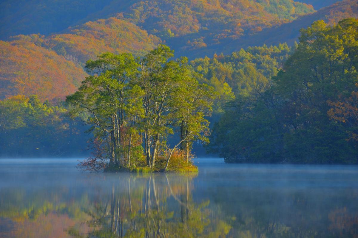 Lago de Sohara 曽原湖