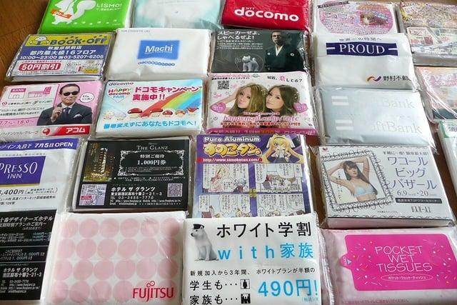 pañuelos desechables con publicidad