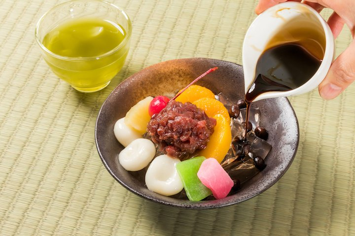 anmitsu - wagashi