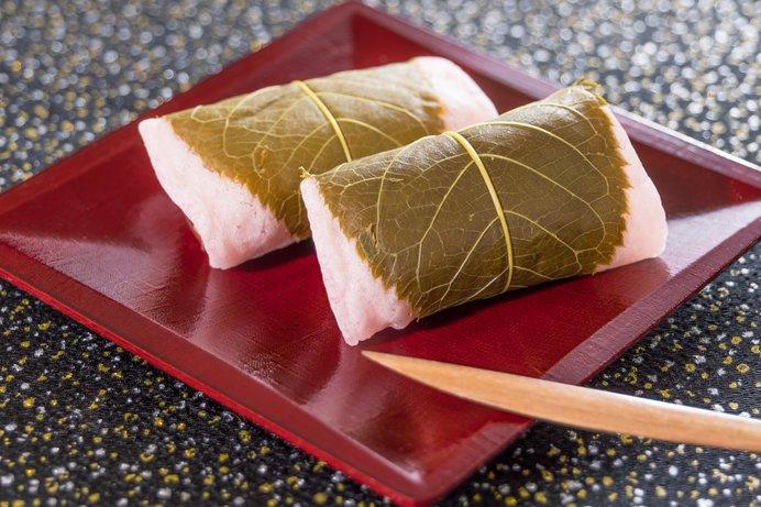 sakura mochi - wagashi