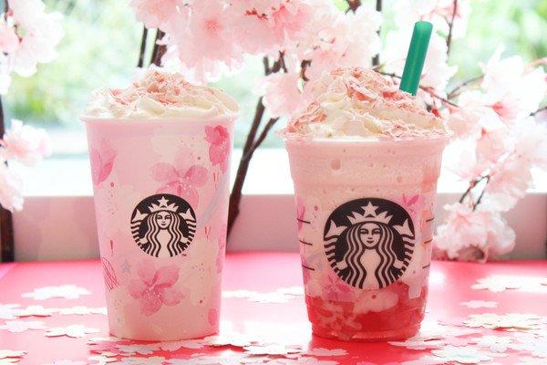Campaña de Starbucks para el Hanami