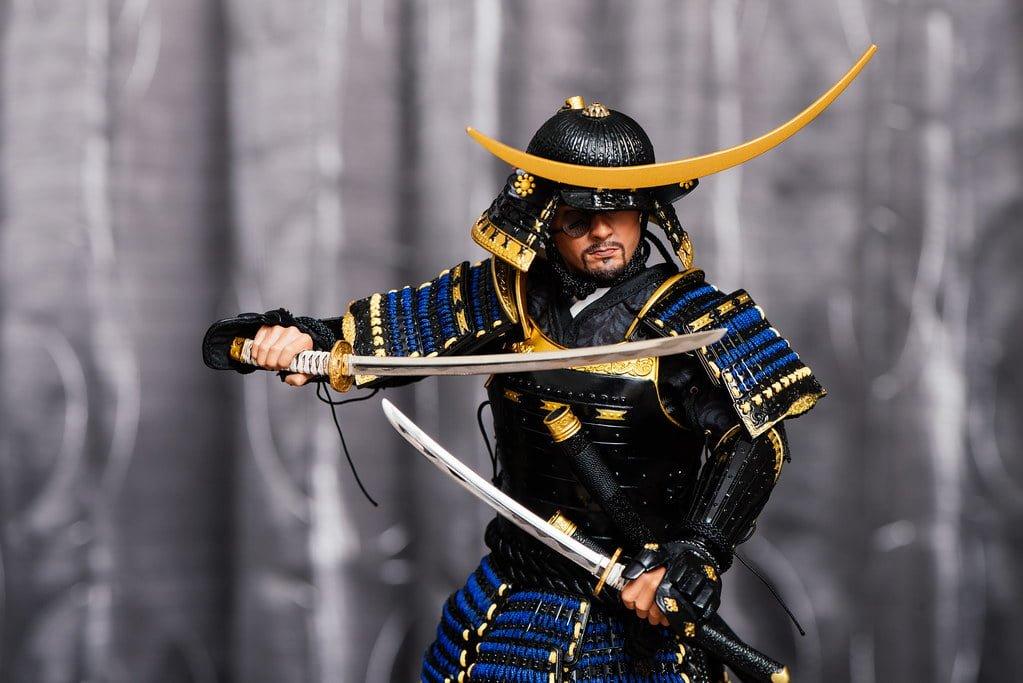 Escultura de Date Masamune