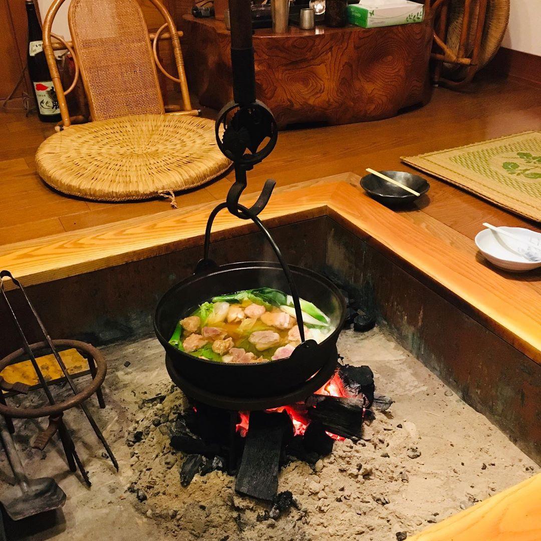 Irori, el antecesor del kotatsu