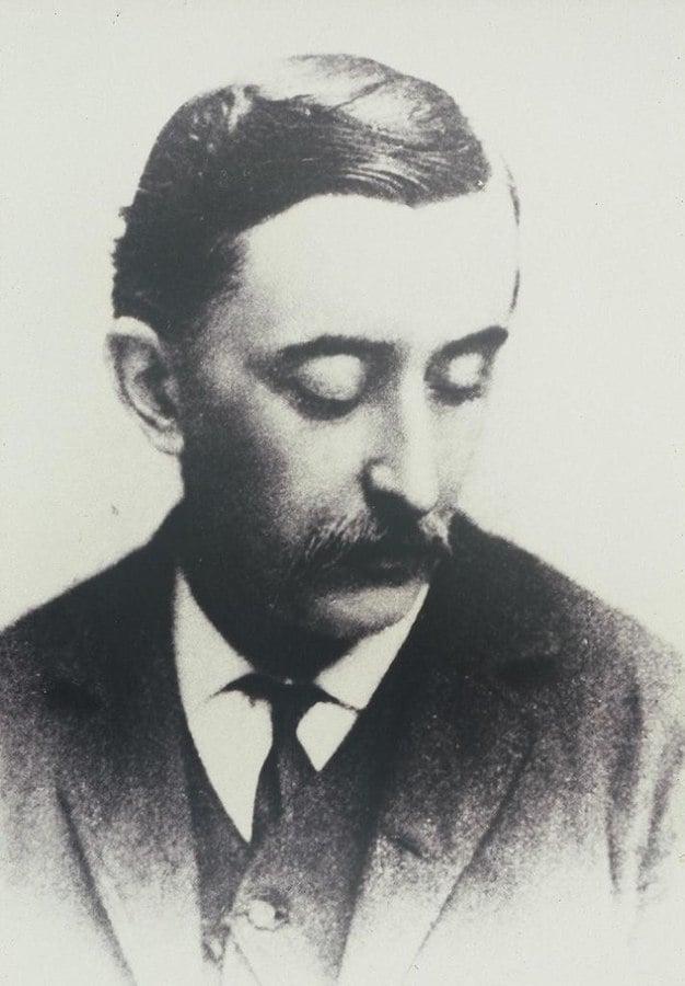 Retrato de Lafcadio Hearn