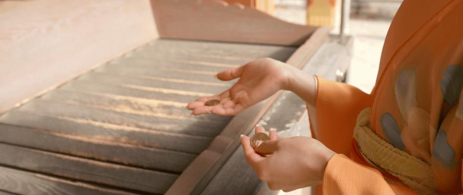 Saisen, ofrenda en templos y santuarios japoneses